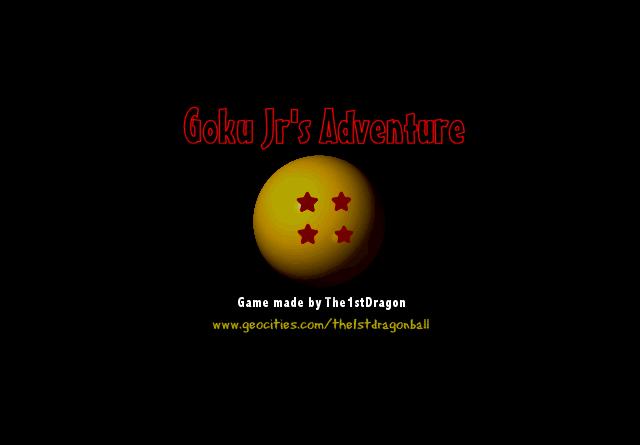Goku Jr's Adventure