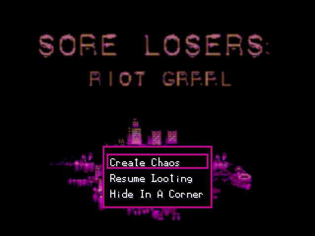 Sore Losers: Riot Grrrl