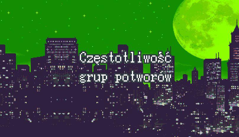 Częstotliwość grup potworów