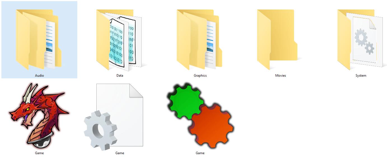 Foldery RM VX Ace