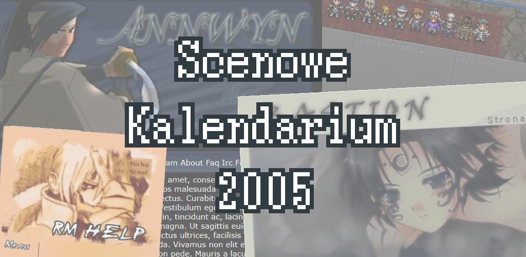 Scenowe Kalendarium – Rok 2005