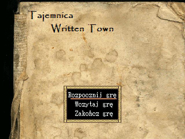 Tajemnica Written Town